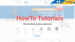 Storat How-to Video Tutorials #4: How to Use the Refresh Button