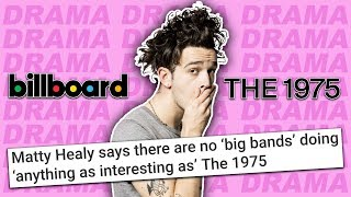 """Band Drama Erupts After The 1975's Matty Healy """"Cocky"""" Comments"""