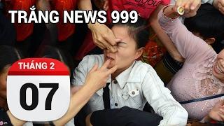 Cướp lộc trắng trợn ngày đầu năm | TRẮNG NEWS 999 | 07/02/2017