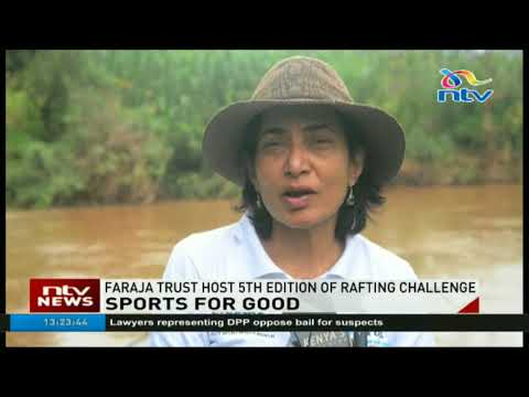 Faraja Cancer Trust hosts 5th edition of White Water Rafting Challenge in River Sagana