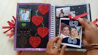 Scrapbook for husband