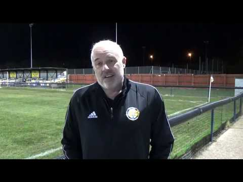1920 Mark Harvey Post-Match Matlock Town 30/10/2019
