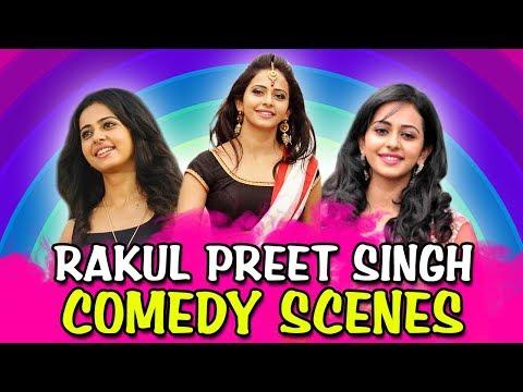 Rakul Preet Singh Comedy Scenes   South Indian Hindi Dubbed Best Comedy Scenes