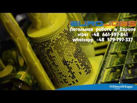 Работа на заводе по производству различных картонных коробок в Польше EuroJobs
