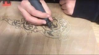 Dremel Wood Carving  Design