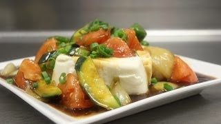 Vegetables and Tofu in Brown Sauce