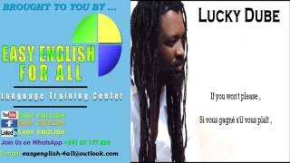EASY ENGLISH FOR ALL   'Lucky DUBE Ding Ding lyrics'