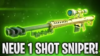 NEUE 1 SHOT SNIPER IST DA! 🔥 | Fortnite: Battle Royale