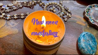Raise Your Vibe ! New Moon Manifestation
