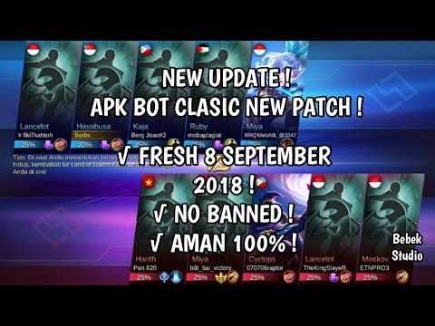 Aplikasi Bot Mobile Legend Patch Lunox | STAMP TV