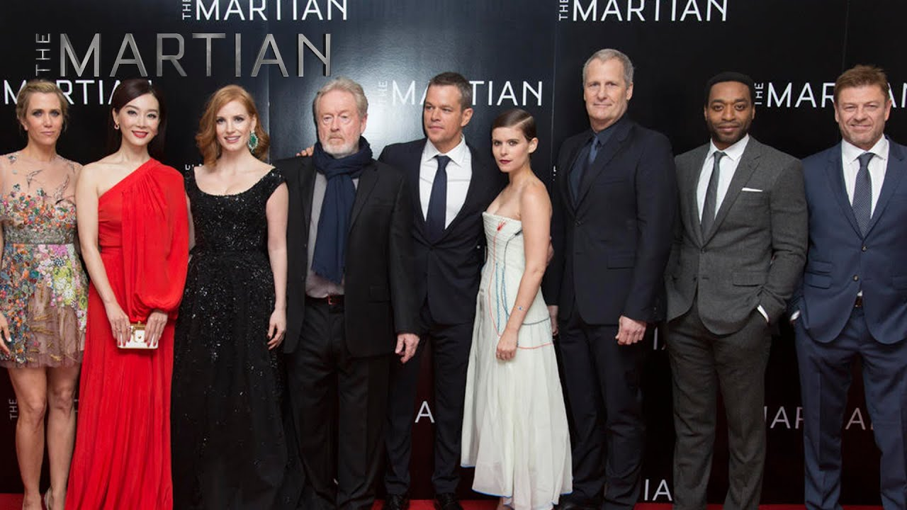 The Martian London Premiere