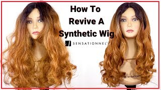 Revive Your Old Synthetic Wig Back To Life ~ Sensationnel Hair