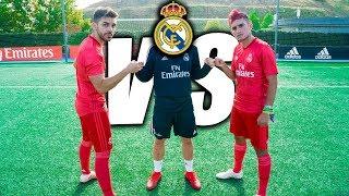 REAL MADRID VS DELANTERO09 | ¿HUMILLADOS?