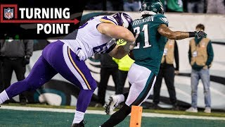 38 Unanswered Eagles' Points Closes the Case on Vikings Season (NFC Champ) | NFL Turning Point | Kholo.pk