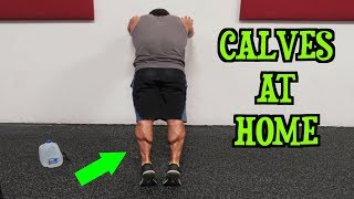 Intense Tabata At Home Calf Workout (HIIT) by Anabolic Aliens