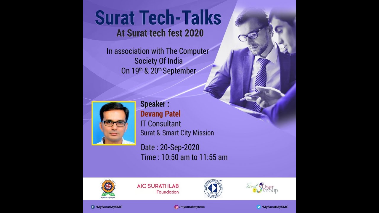 Surat & Smart City Mission -- Devang Patel