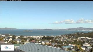 preview picture of video 'Wellington Harbour 15 Hours in 12 Minutes'