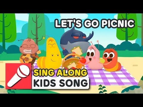 LET'S GO PICNIC | LARVA KIDS | SING ALONG | BEST NURSERY RHYME | PICNIC SONG