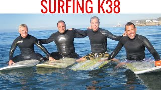 preview picture of video 'Longboard Surfing K38, Club Marena Rosarito Mexico'