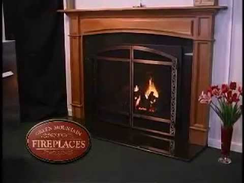 Mendota Gas Fireplaces at Green Mountain Fireplaces of Vermont