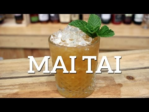 Mai Tai Cocktail Recipe – Trader Vic Version