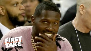 Antonio Brown to meet with the NFL about returning to football | First Take