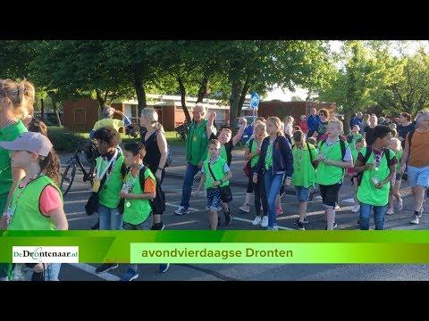 VIDEO | Nog een keer alle deelnemers aan de avondvierdaagse in Dronten in beeld