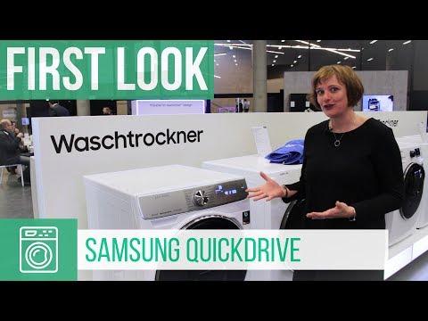 Samsung QuickDrive Waschtrockner (German)