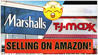 TJ MAXX AND MARSHALLS HAUL! HOW TO MAKE MONEY SELLING ON AMAZON!
