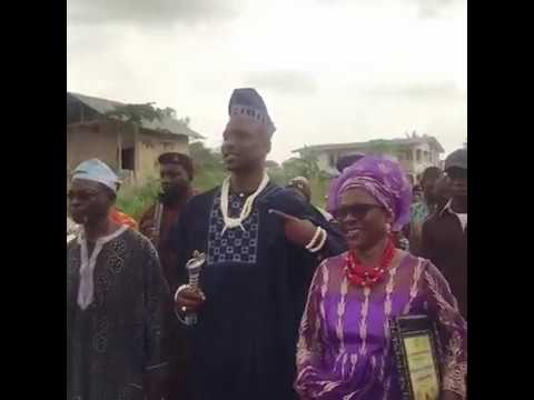 UK Rapper Skepta Made a Chief In His Hometown In Nigeria