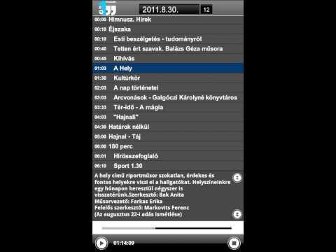 Video of Magyar Rádió Hangtár - AIR