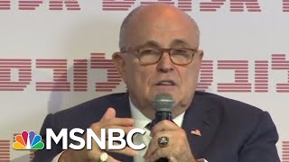 Rudy Giuliani Speaks, Causes Trouble For President Donald Trump | The Last Word | MSNBC