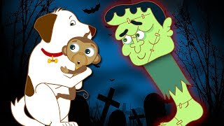 Halloween Party with Annie, Ben and Mango  | The Almost Missing Monster by HooplaKidz