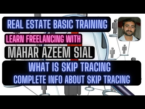 What is skip tracing || Tutorial about skip tracing of real estate ...