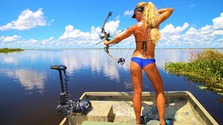 Bikini Bowfishing & Fishing In Central Florida