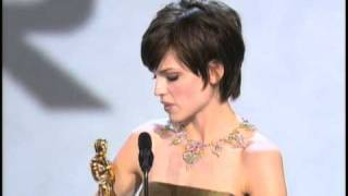 Hilary Swank Wins Best Actress: 2000 Oscars