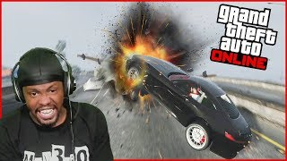 I Called My Friends Out To A Race Circuit In GTA 5 Online... (GTA 5 Online Funny Moments)