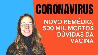 Coronavírus: 500 mil mortos