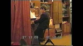 Вальс фортепиано 27 12 2003