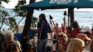 "Donovan Chapman's ""Somewhere Over the Rainbow"" Medley on Waikiki Beach, Hawaii."