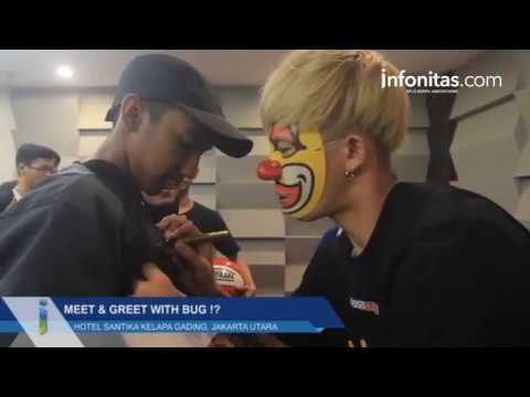 Meet & Greet With Bug Freestyler Basketball Asal Jepang