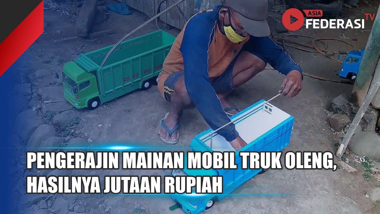 Kendal – Pengerajin Mainan Mobil Truk Oleng Berpenghasilan Jutaan Rupiah
