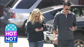 Reese Witherspoon & Jim Toth Leave Church