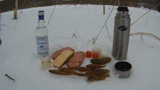 Рыбалка в Карелии-Ялгуба зимой -19 .01 .2018г-Fishing in Karelia-Yalgub in winter -19 .01 .2018g