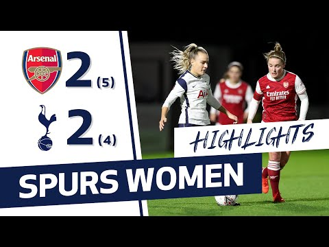 HIGHLIGHTS | ARSENAL 2-2 SPURS WOMEN (5-4 ON PENALTIES) | CONTI CUP