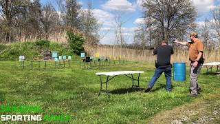 Action Pistol Match at Sandoval Range, Illinois - Shooter 10