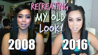RECREATING MY OLD LOOK CHALLENGE! - Itsjudytime