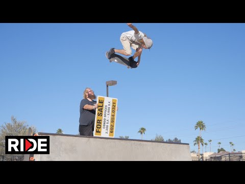 "Aaron ""Jaws"" Homoki Phoenix Skatepark Check"