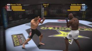 EA Sports MMA Online Match 1 - (Dan Henderson vs. King Mo)