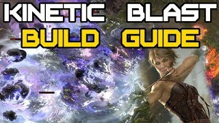 Kinetic Blast Deadeye Full Build Guide   Path Of Exile 3.3